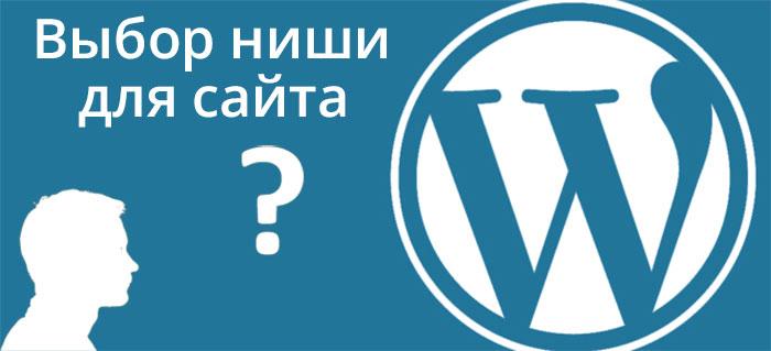 Выбор ниши для сайта на движке WordPress – картинка